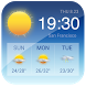 Blue - Temperature Weather App QQ8 R3D3 C5PO by Weather Widget Theme Dev Team