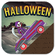 Halloween uphill climb for kid by DevYouApp