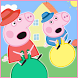 ????Pepa Adventure Happy Pig Run by WORLD.GAMES