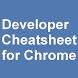 Chrome Developer Cheatsheet by The4D