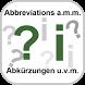 Abbreviations formats amm by Saeed A. Khokhar