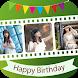Birthday Video Album Maker by Video Maker & Video Editor Studio