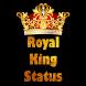 Royal King Status 2018 by Hindi Fun Zone