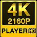 4K QUADHD Video Player (4K super QHD) by thehelpfultech