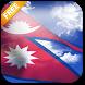 3D Nepal Flag Live Wallpaper by App4Joy