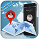 True Caller Id &Number Tracker by Magical Flash Black Birds