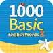 1000 Basic English Words 2 by Compass Publishing