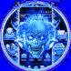 Blue Fire Skull Theme by Ahl ar-ray solutions pvt ltd