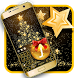 Gold Christmas Tree by Keyboard Design Paradise