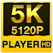 5K UHD All Media Player (super HD player) by thehelpfultech