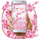 Floral Cherry Blossom Pink Spring Sakura Theme by Keyboard Theme Creator