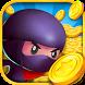 Coin Mania: Ninja Dozer by AE Magwin: Free Casino Slot Machines Bingo Games