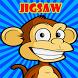Funny Cartoon Animal Jigsaw Puzzles For Kids by princeza