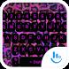 Keyboard Theme Leopard Pink by Luklek