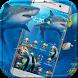 Crazy Shark Theme Blue Sea by Fashion Themes Studio