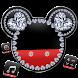 Diamond Mickey Minnie Valentine's Day theme. by Hello Keyboard Theme