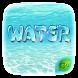 GO Keyboard Theme Water by GOMO Dev Team