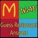 Guess Restaurant Quiz Answers by DCstudios