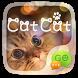 (FREE) GO SMS CAT CAT THEME by ZT.art