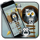 Cute Owl Mobile Theme by Luxury Mobile Themes