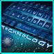 Blue Technology Keyboard Theme by Luxury Keyboard Theme
