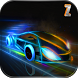 Futuristic Neon Car Driving: Neon Rider Of Future by Zappy Studios - Action and Simulation Games & Apps