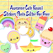 Awesome Cute Kawaii Stickers Photo Editor Studio by Crystal Apps Inc