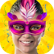 Masquerade Mask Face Changer by Photo Montage Studio