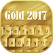 Gold 2017 Typewriter Theme by Me&Art Android Theme Designer