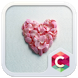 Pink Petals Heart Love Theme by Best theme workshop