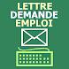 Lettre et demande d'emploi