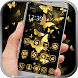 Golden Butterfly theme by launcher theme