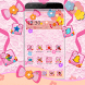 Fancy Pink Bow Theme by Luxury Mobile Themes