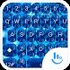 Keyboard Theme Shading Blue by Luklek