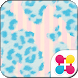 Cute Theme-Blue Leopard- by +HOME by Ateam