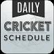 Live cricket schedule 2017 by AriseCreator
