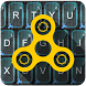 Fidget Spinner Keyboard Theme by elifestyle