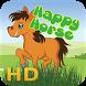 jumping happy horse by 99istifada