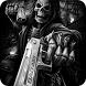 Skull gun hell devil by BeautifyStudio