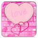 Pink Hearts Keyboard Designs by Libbs Apps Mania