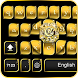 Black Gold Keyboard Theme by Keyboard Dreamer