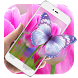 Purple Tulip HD Live Wallpaper by Keyboard and HD Live Wallpapers