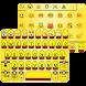 Banana Emoji Keyboard Theme Wallpaper by Keyboard themes