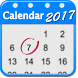 2017 Calendar App for Android™ by The World of Digital Clocks