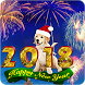 Happy New Year Live Wallpaper 2018 Countdown by EziGames Studio