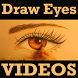 Learn How To Draw Eyes VIDEO by Kavya Krishna255