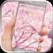 Pink sakura theme icon packs by Neon launcher theme - wallpapers
