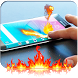Fire Screen Touch Prank by Super Jungle World for Mario