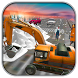 Excavator Snow Plow:Rescue by Best 3D Action Games