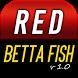 Red Betta Fish Live Wallpaper by AstroViper Labs